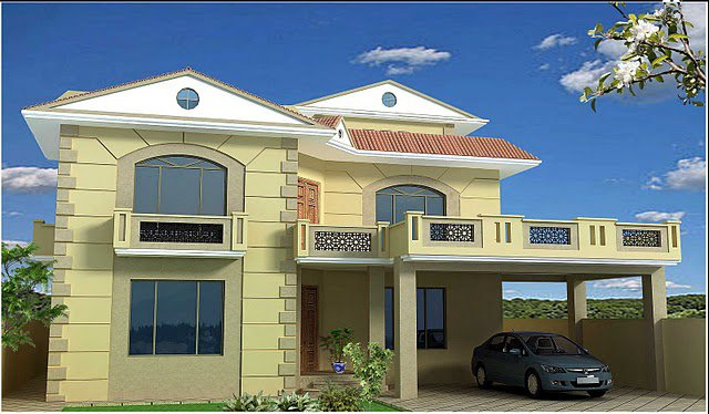Front Elevation Balcony Design : Happyhome